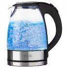 ECG Glass kettle 1,7l 2200 W Removable and washable limescale