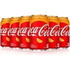 Coca-Cola Orange Vanilla karastusjook, 355 ml, 12-PACK
