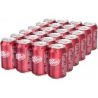 Dr Pepper Soft Drink, 330 ml, 24-PACK