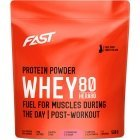 FAST HERA80 Strawberry Whey Protein Concentrate, 500 g