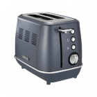 Morphy richards Toaster 224401 Steel Blue, Stainless steel