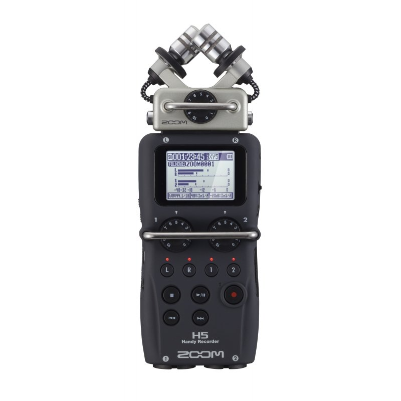 Zoom H5 portable recorder with interchangeable