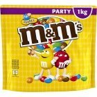 M & M'S Peanut PARTY BAG Шоколадные гранулы, 1 кг
