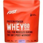 FAST HERA80 Blueberry-vanilla whey protein concentrate, 500 g