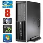 HP 8100 Elite SFF i5-750 8GB 500GB GT710 2GB DVD WIN7Pro