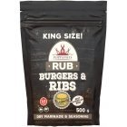 Popper Burgers & Ribs RUB spice mix, 500 g