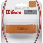 Wilson Premium Leather Grip, brown leather, 1 pc