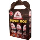 Poppamies SuperHot sauce assortment, 3 x 150 ml