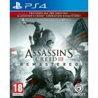 Assassin's Creed III - Remastered mäng, PS4