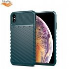 TakeMe Thunder TPU super thin back cover case for Apple iPhone XS Max Dark green
