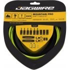 Jagwire Mtn Pro cable and shell set, green