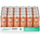 Purifier Natural Energy Drink Peach energy drink, 330 ml, 24-pack