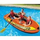 Intex 58358 Explorer Pro 300 Inflatable Boat with Oars and Pump