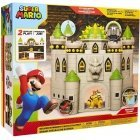 Super Mario Deluxe Bowser Castle toy set