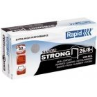 Rapid 24/8 Super Strong staples, 5000 pcs, 3 packages