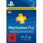 PlayStationPlus Live Card (365 days) (PS4 PS3 PSV)