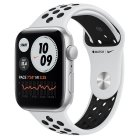Apple Watch Nike SE GPS, 44mm Silver Aluminium Case with Pure