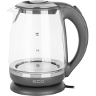 ECG Electric kettle RK 2020 Grey Glass, 2 L, 360° base with