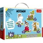 TREFL Moomins baby puzzle game, 3 + 4 + 5 + 6 lights