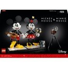 LEGO Disney 43179 - Buildable Mickey Mouse and Minnie Mouse characters