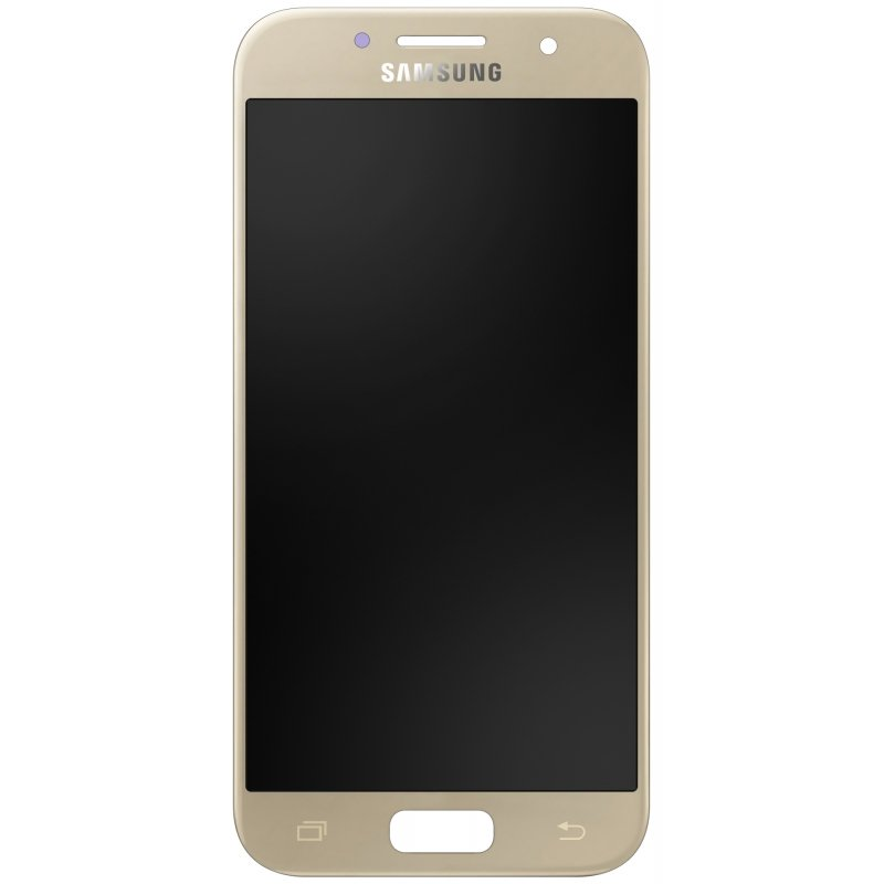 Samsung Front LCD Asm Gold SM-A520