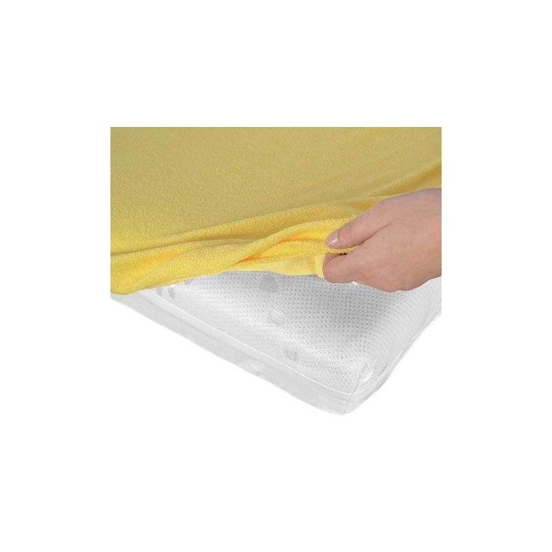 _unknow_ Mattress cover Frotte yellow 80x180