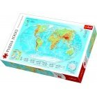 Trefl TR 1000 det. world map puzzle