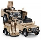 The RASTAR 1/32 car is powered by Land Rover Defender, 62000