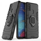 TakeMe Armor Stand Back Case / finger ring / car holder magnet for Samsung Galaxy A32 (A326) 5G Black