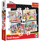TREFL Puzzle Set 4in1 Minnie-Mouse