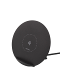 Wireless charger DELTACO suitable for iPhone and Android, 5W, black / QI-1025
