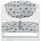 Hauck Deluxe high chair cushion, Nordic Gray