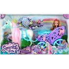 SPARKLE GIRLZ doll set royal horse with carriage, 10068