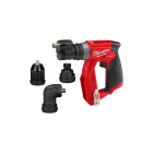 Milwaukee Akum. screwdriver-drill (with exchange of 4 grippers set) M12 FDDXKIT-0X 12V (without battery and charger)