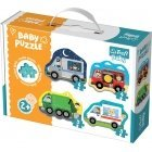 TREFL Baby Cl.Puzzle Cars and Prof.