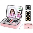 Puluz Make-up case with LED mirror and phone holder PU516F