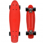 Fishboard with illuminated wheels, red