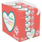 Pampers Kids Hygiene on-the-go Baby Wipes 15x40 Wipes
