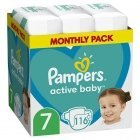Pampers AB 7 116 pc(s)