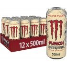 Monster Energy Pacific Punch energy drink, 500 ml, 12-pack