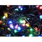 100 LED Christmas garland of outdoor lights 9.7 m., Multicolored