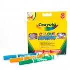 CRAYOLA 8 markers for whiteboard
