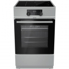 Stove Gorenje Cooker MEKI510I Hob type Induction, Oven type Electric, Stainless steel, Width 50 cm, Electronic ignition, Grillin