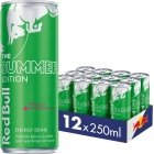 Red Bull Summer Edition energy drink, 250 ml, 12-pack