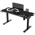 Gaming table Ultradesk Force Gaming Desk, LED RGB Prismatic