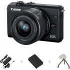 Canon EOS M200 SLR camera, webcam package