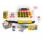 Toy store cash register with accessories B22E