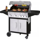 ProfiCook gas grill PC-GG 1206 gas grill 4 + 1 heating zones
