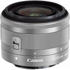 Lens Canon EF-M 15-45mm f / 3.5-6.3 IS STM (Silver) - White box (white box)