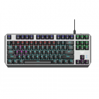 Aula Aegis Mechanical keyboard, with cable, EN, Red switch, USB, Black